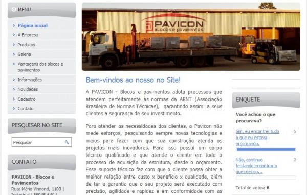 Pavicon – Blocos e Pavimentos