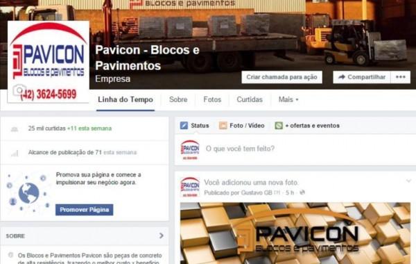 Facebook Pavicon Blocos e Pavimentos