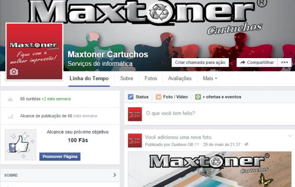 Facebook Maxtoner Cartuchos