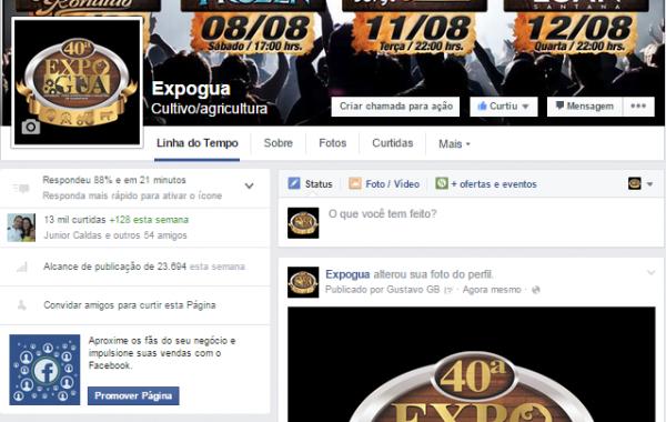 Facebook 40ª Expogua Oficial