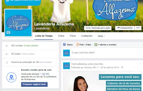 Facebook Lavanderia Alfazema